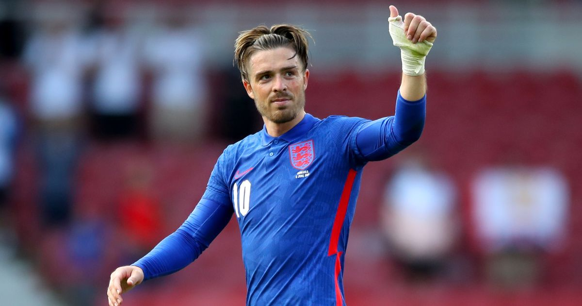 Grealish trains away from main group as England prepare for Scotland - Football365