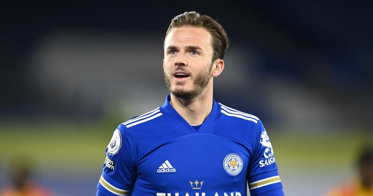 James Maddison Leicester Arsenal