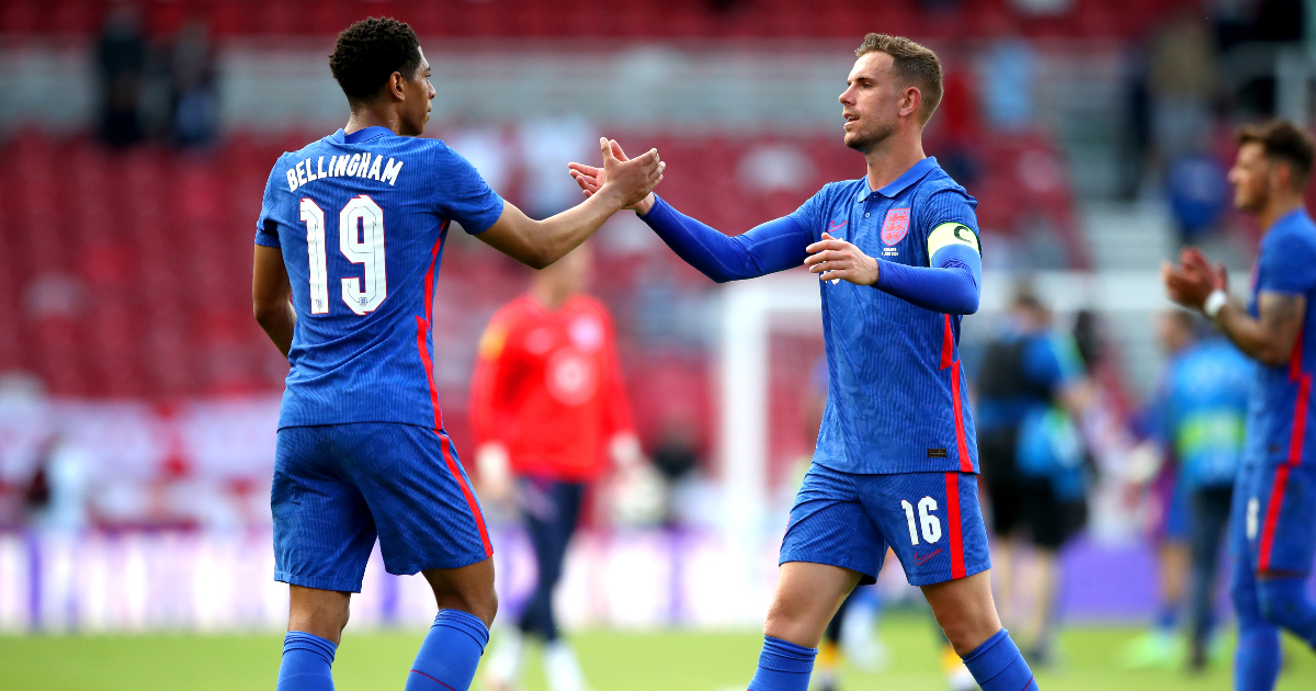 Bellingham heaps praise on fellow England midfielders