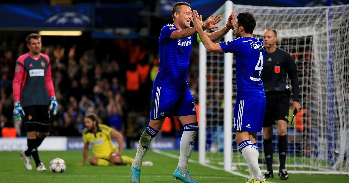 Fabregas reveals Terry's Spurs nod in final Chelsea speech