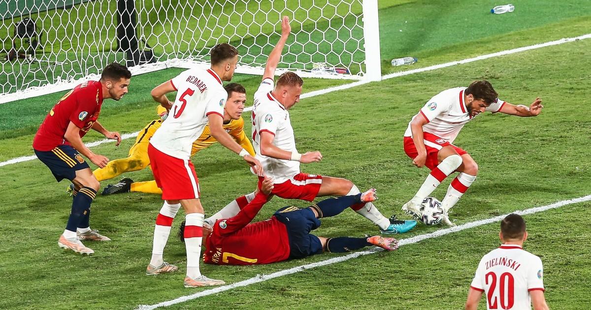 La Pologne se défend contre l'Espagne