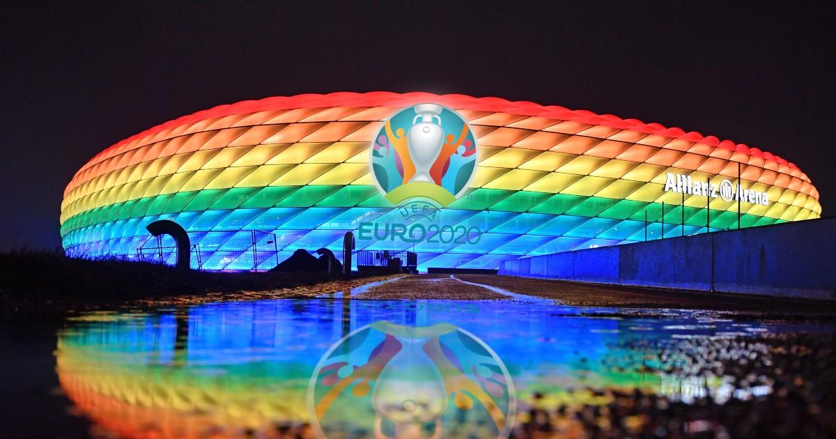 The Allianz Arena stadium in Munich