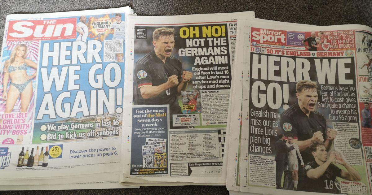 England-Germany-media