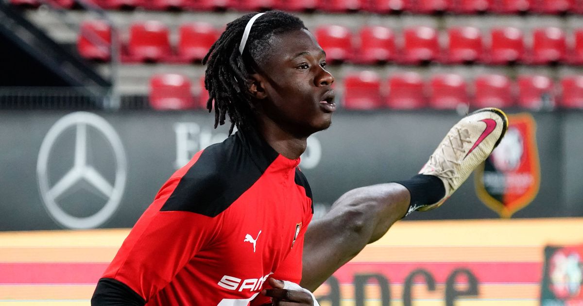 Eduardo Camavinga Rennes Arsenal