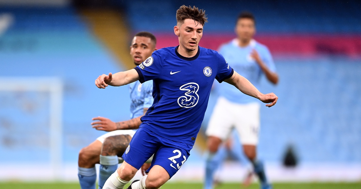 Billy Gilmour Chelsea Norwich F365