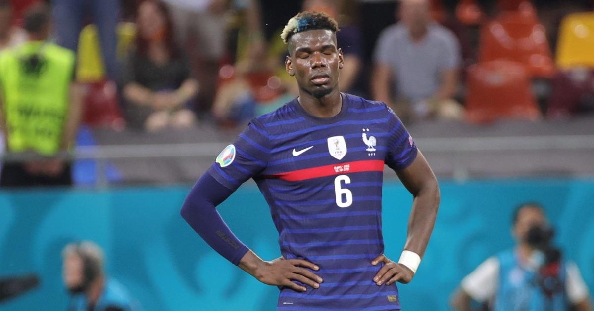 Keane, Neville blame Pogba for France Euro 2020 exit