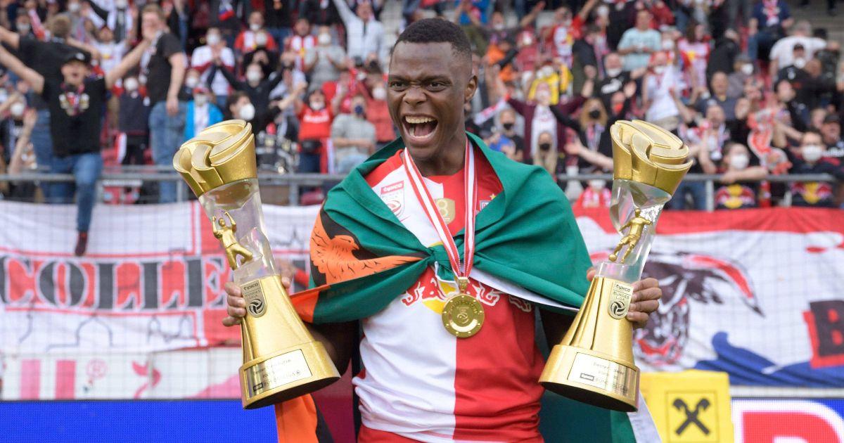 Patson Daka RB Salzburg Leicester