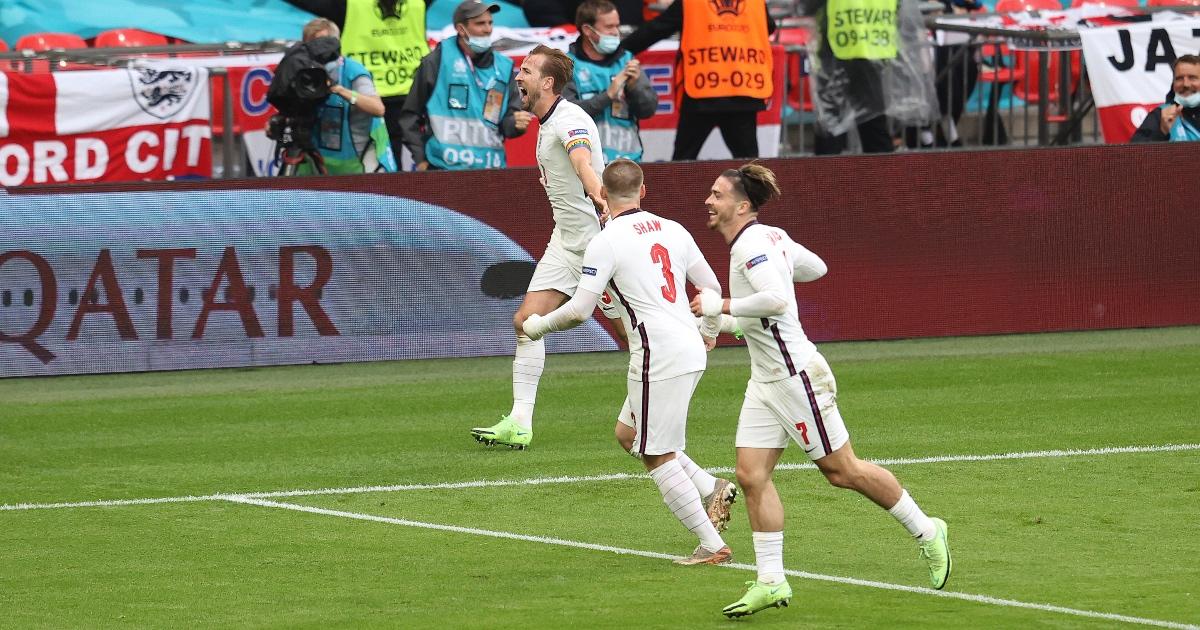 Harry Kane goal Germany F365