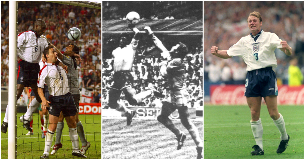Sol Campbell Diego Maradona Stuart Pearce