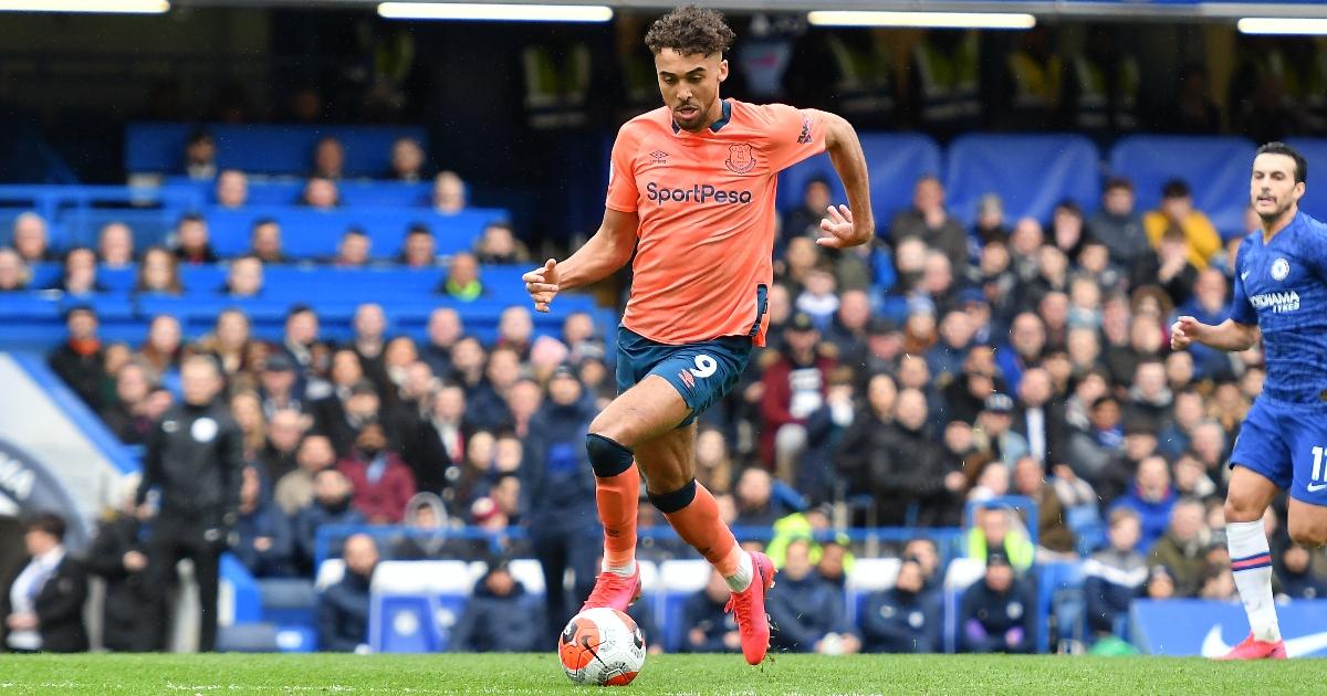 Chelsea Calvert-Lewin Everton