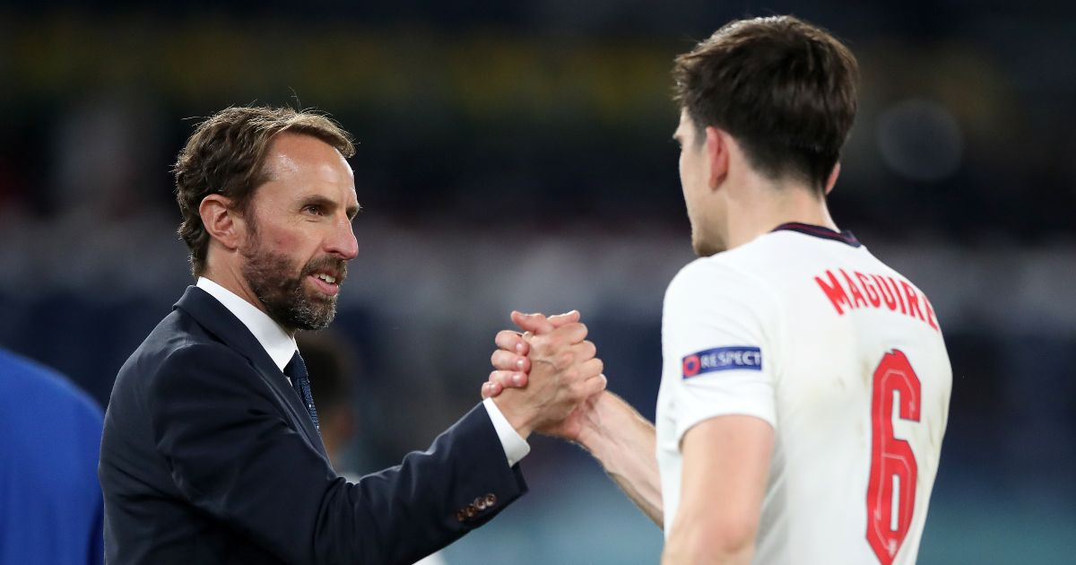 Gareth-Southgate-Harry-Maguire