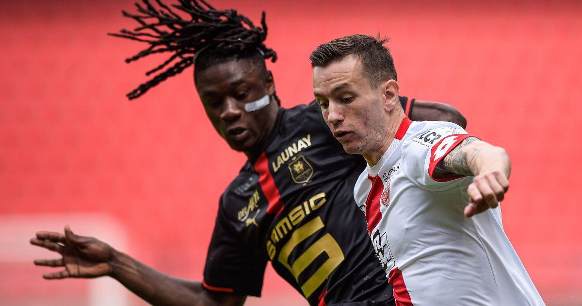 Eduardo Camavinga Rennes Man Utd