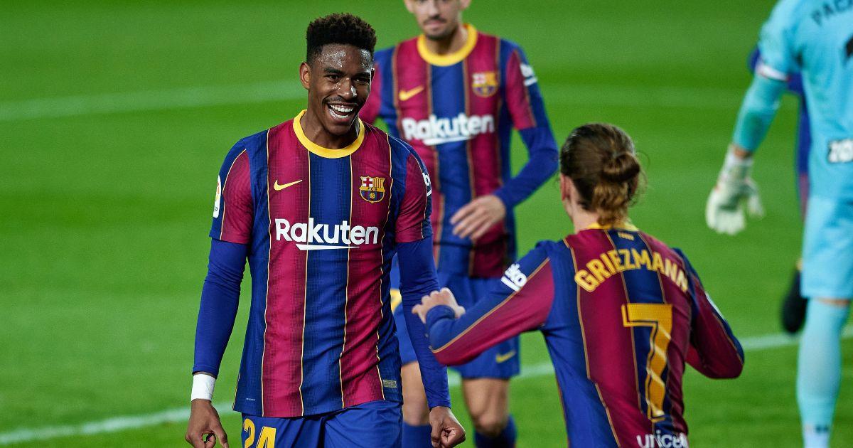 Junior Firpo Barcelona Leeds