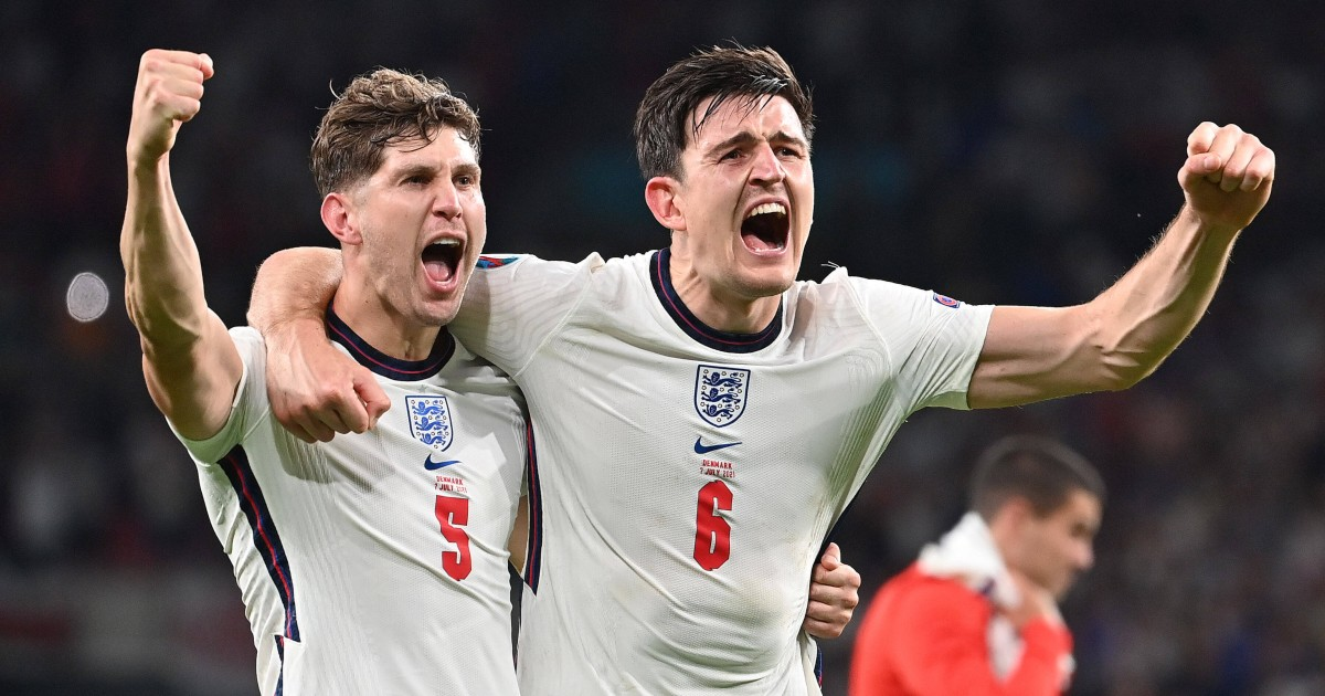 John Stones and Harry Maguire