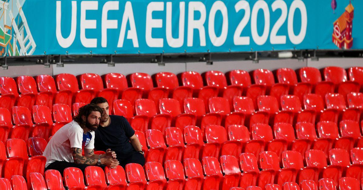 England Italy fans Wembley Euro 2020