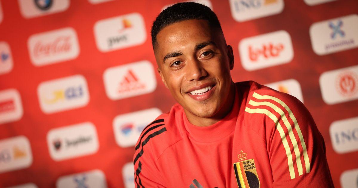 Youri Tielemans Belgium Liverpool