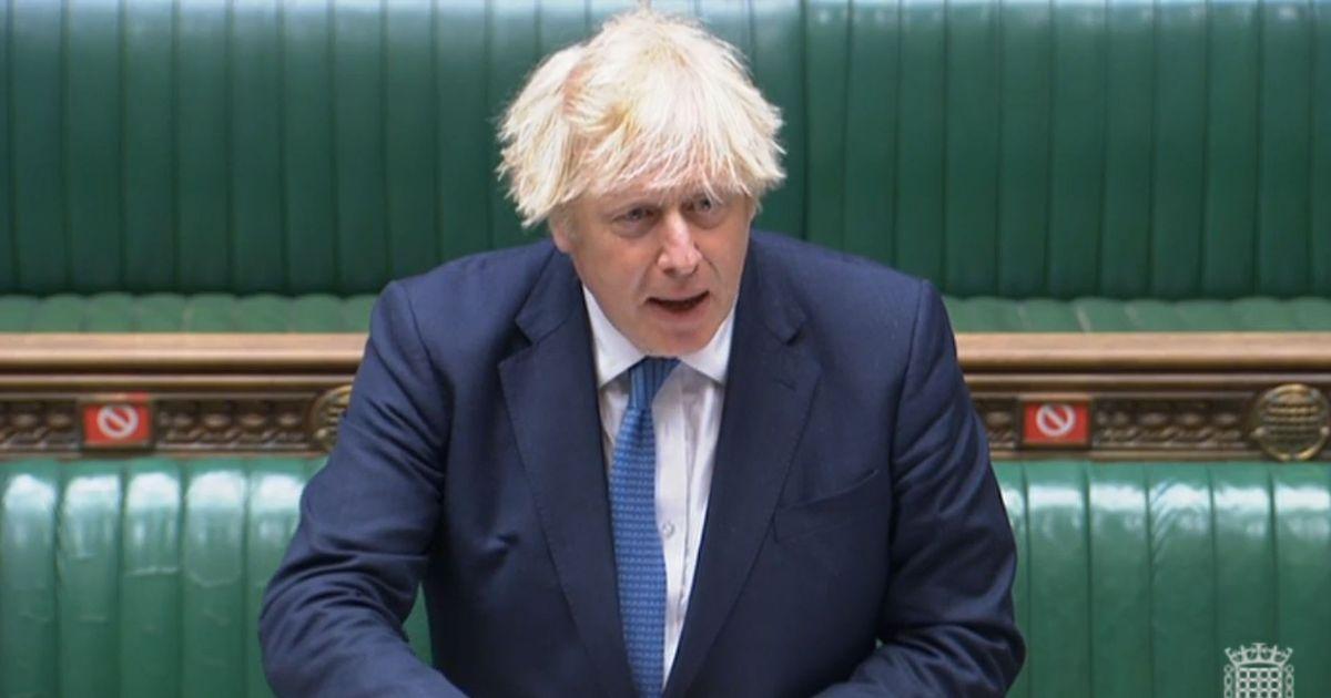 Boris Johnson football