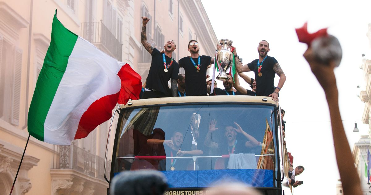 Italy Euro 2020 winners