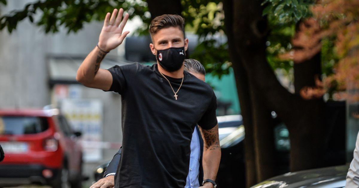 Olivier Giroud AC Milan Chelsea