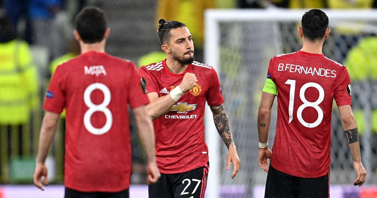 Alex Telles Man Utd