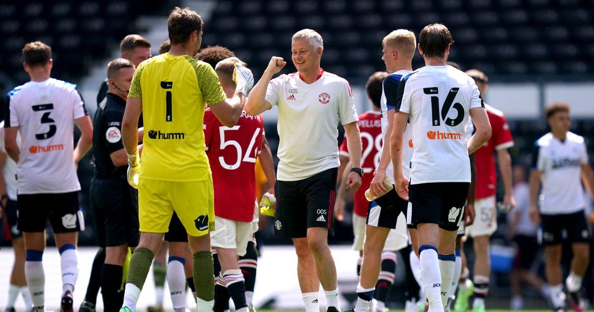 Ole Gunnar Solskjaer Man Utd Derby