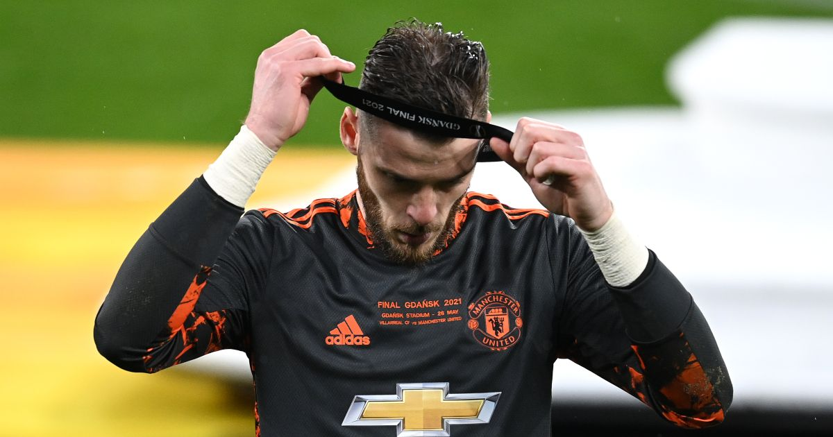 David de Gea Man Utd