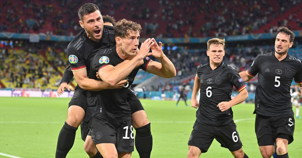 Leon Goretzka Germany Man Utd
