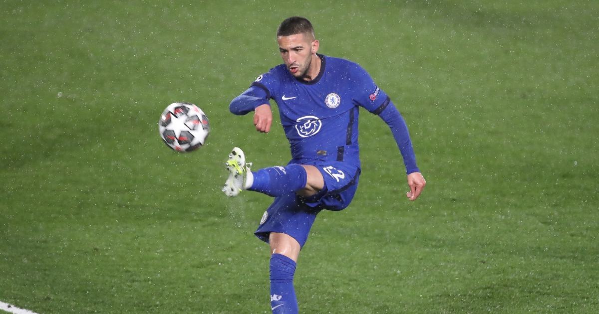 Hakim Ziyech Chelsea AC Milan F365