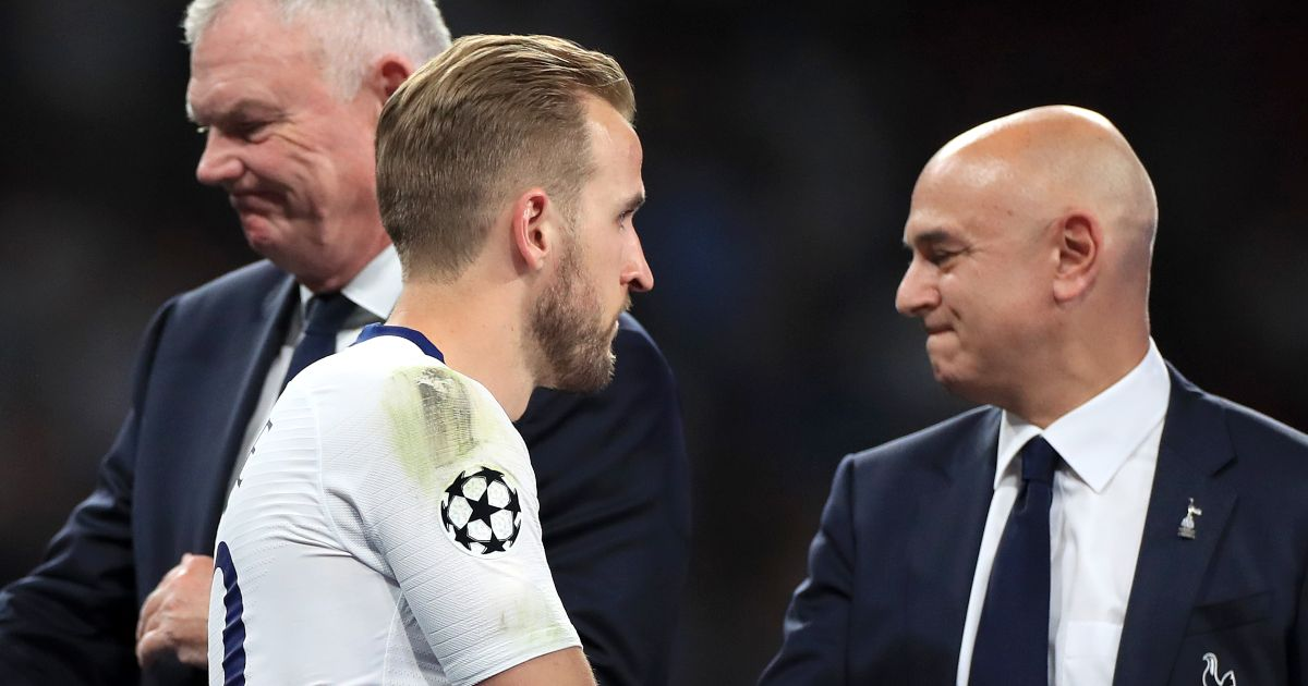 Spurs tell Kane they 'expect him' to stay; 'no way' City will pay £160m