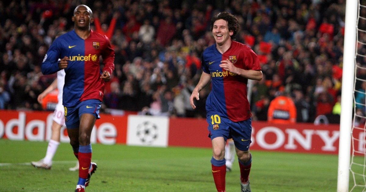 Eto'o belittles Messi in scathing response to question Football365 - Football365