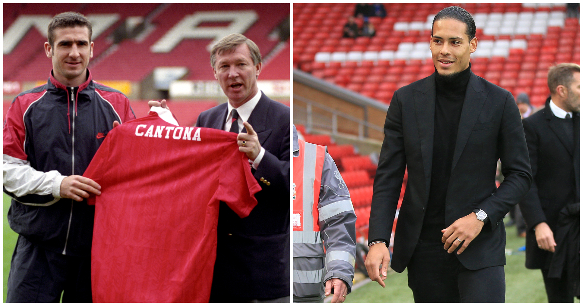 Cantona and Vin Dijk among F365's top ten transformative transfers...