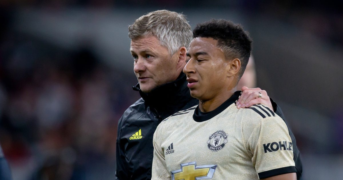 Solskjaer wants 'Red through and through' Lingard to sign Man United extension
