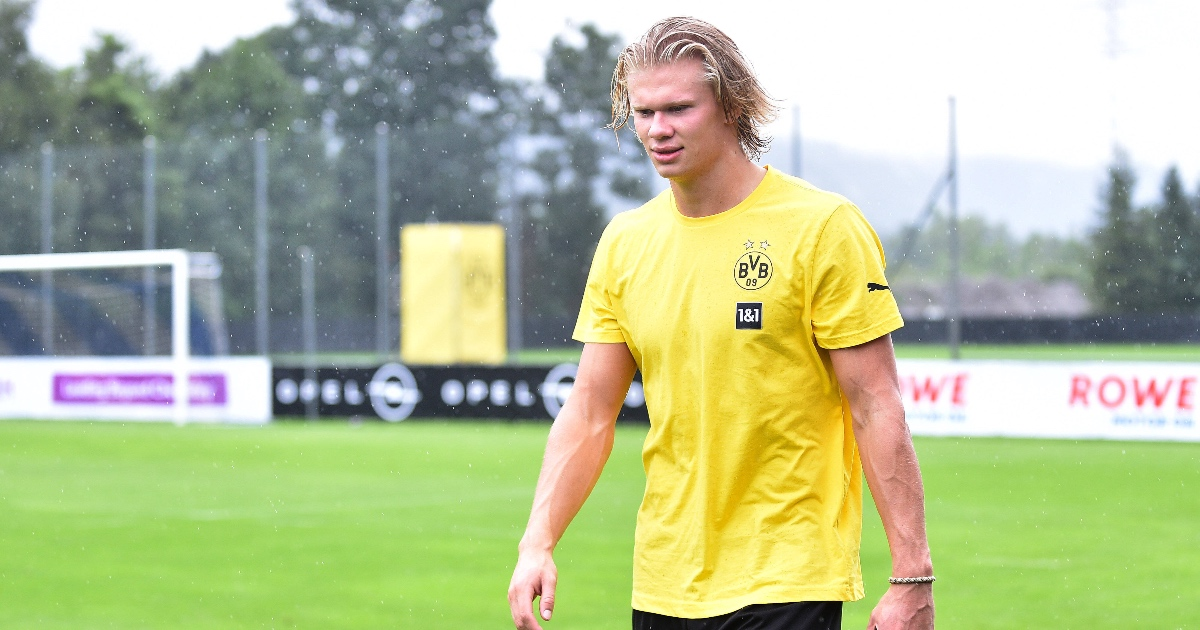 Erling Haaland Chelsea Dortmund F365