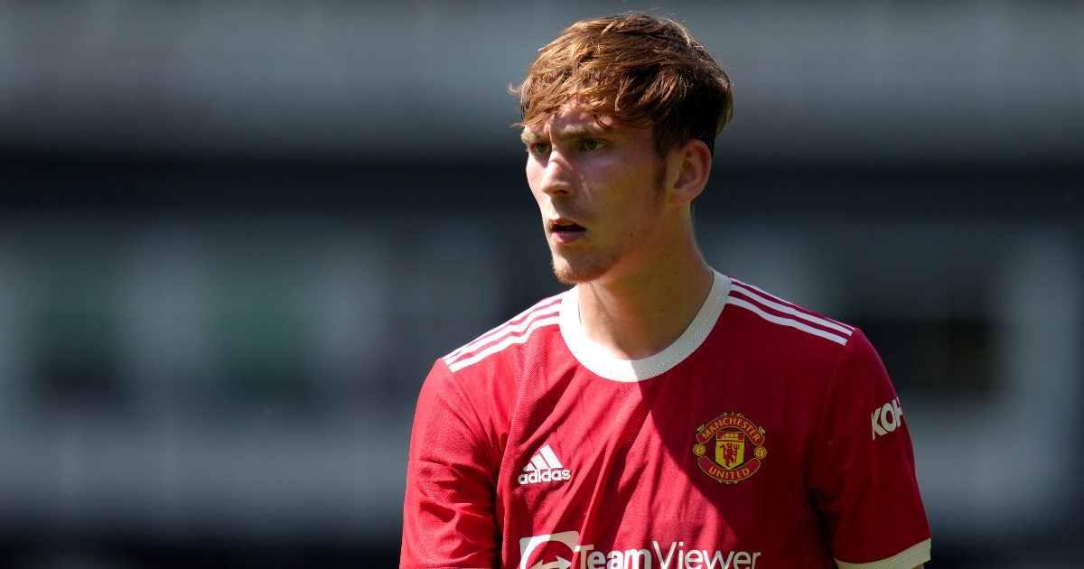 Blades 'very keen' on young midfield talent from Man Utd