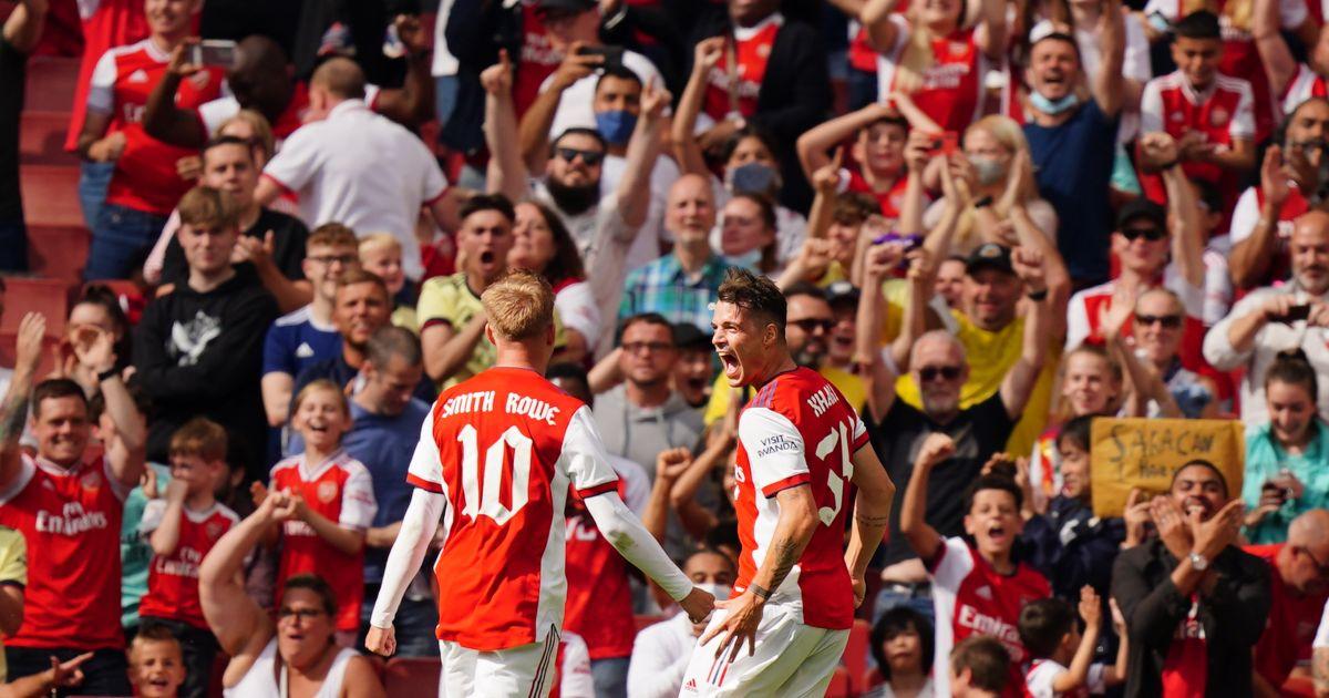 Granit Xhaka Arsenal Man Utd