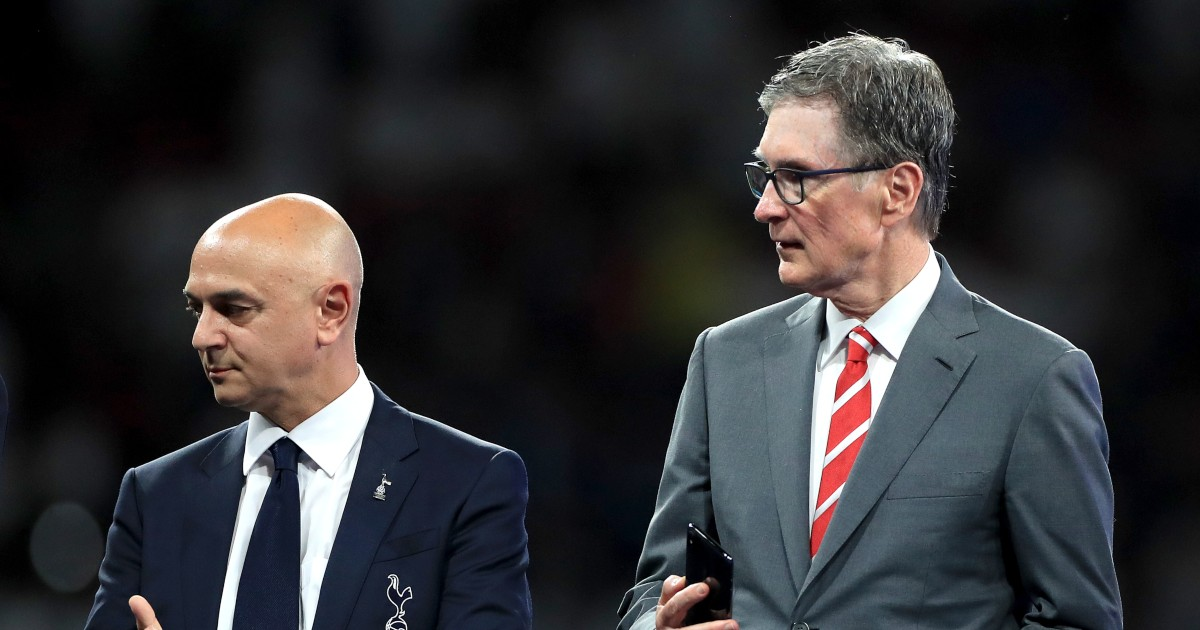Daniel Levy and John W. Henry