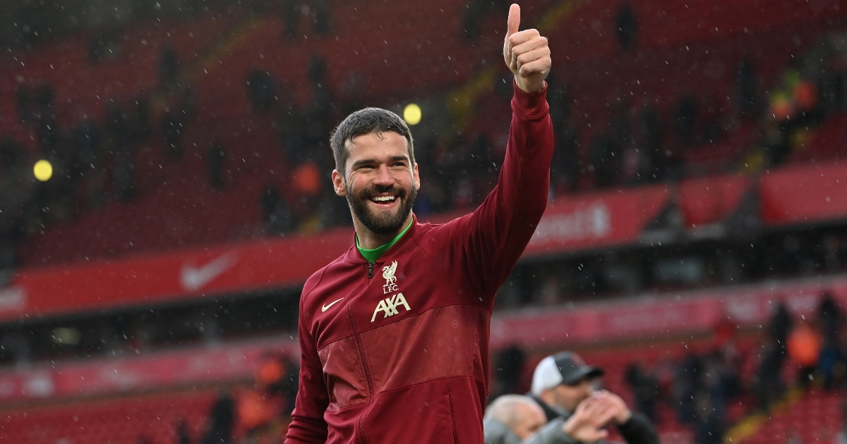 Alisson signs new long-term contract with Liverpool