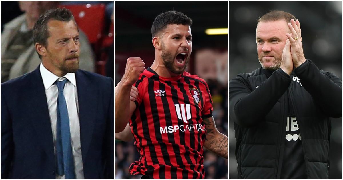 Slavisa Jokanovic, Emiliano Marcondes and Wayne Rooney