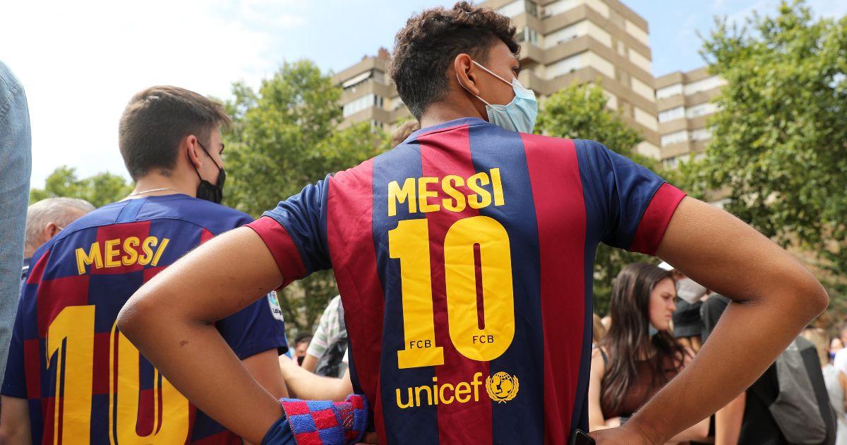 Lionel Messi Barcelona fans
