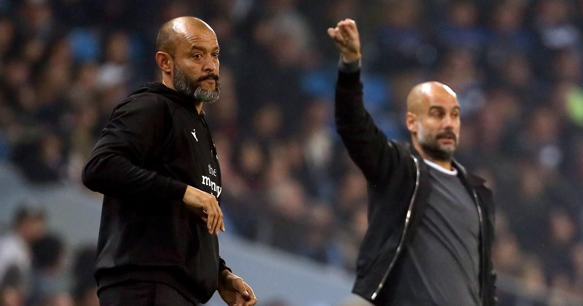 Nuno Espirito Santo and Pep Guardiola