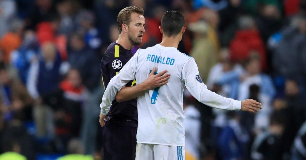 Harry Kane Ronaldo
