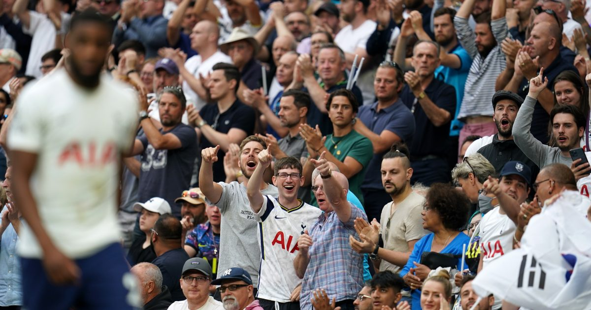 Japhet Tanganga Tottenham fans