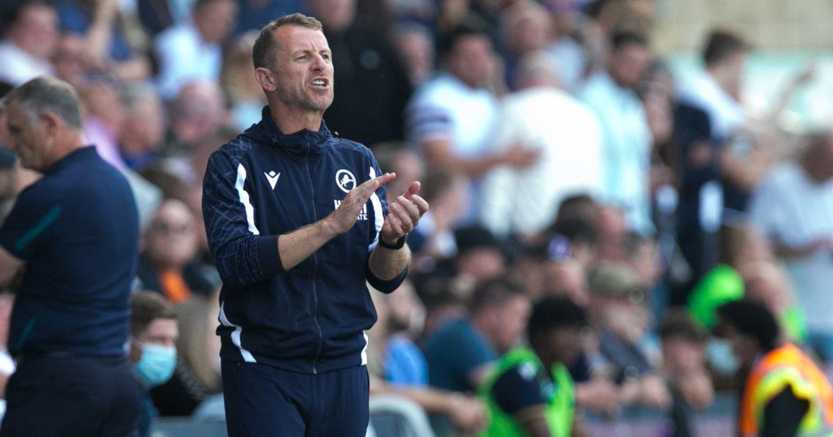 Millwall boss Gary Rowett
