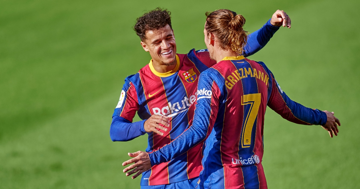 Philippe Coutinho and Antoine Griezmann