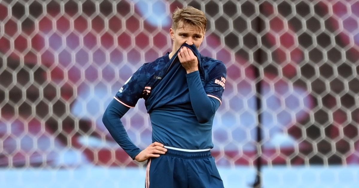 Arsenal's Martin Odegaard