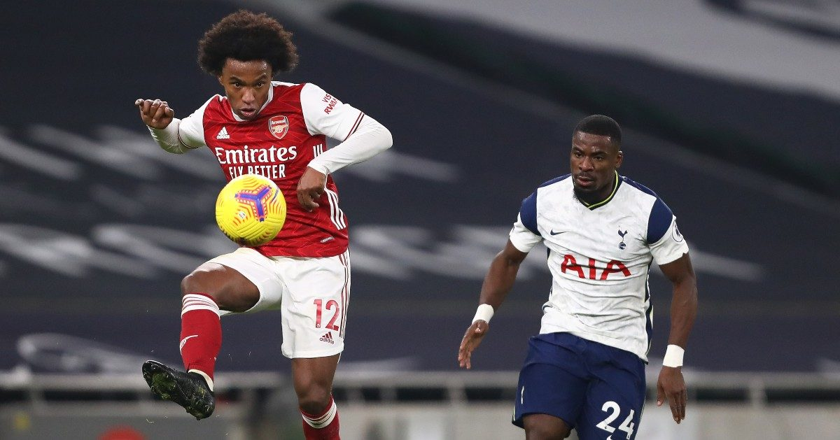 Willian and Serge Aurier
