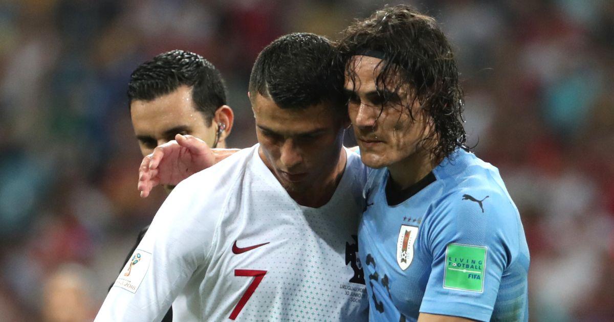 Cristiano Ronaldo Edinson Cavani