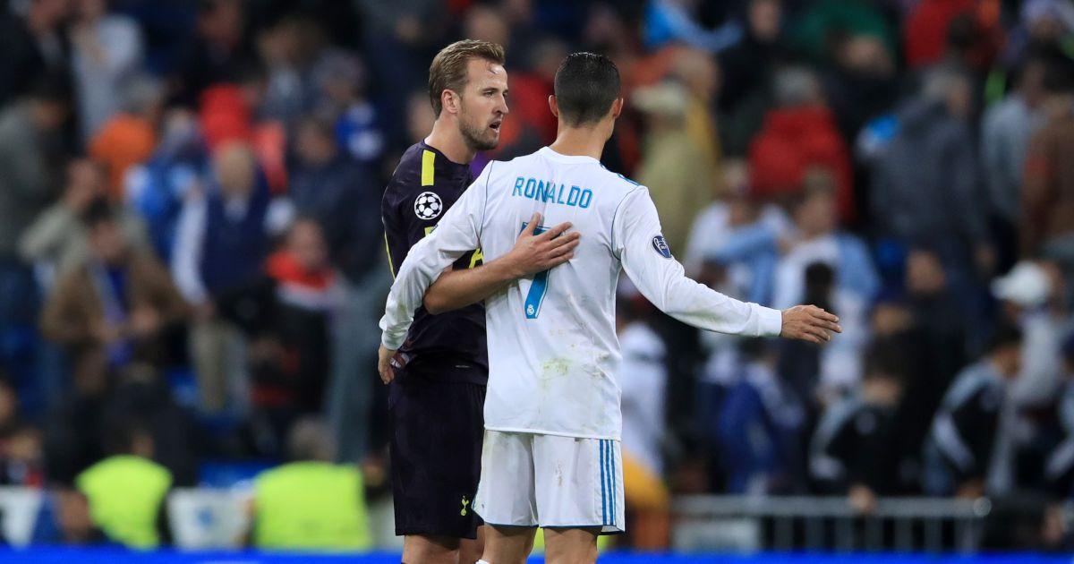 Harry Kane Cristiano Ronaldo