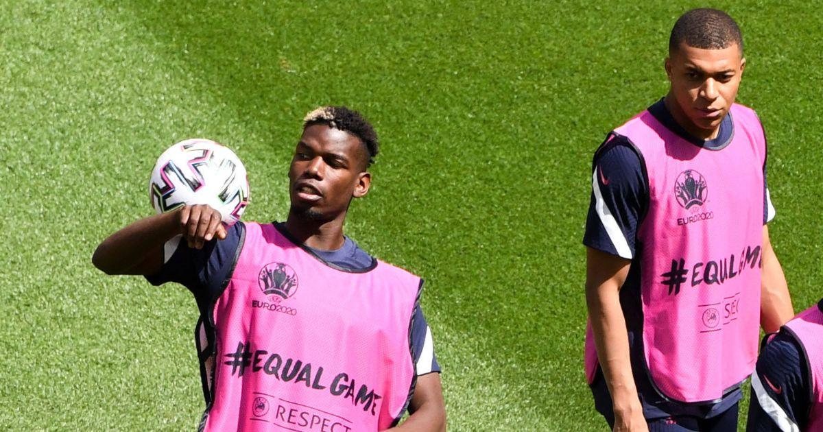 Paul Pogba Kylian Mbappe Man Utd
