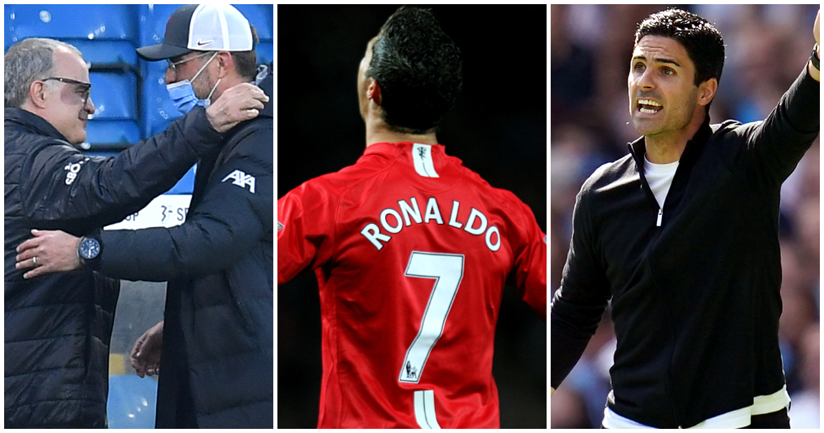 Big Weekend Leeds v Liverpool Cristiano Ronaldo Mikel Arteta